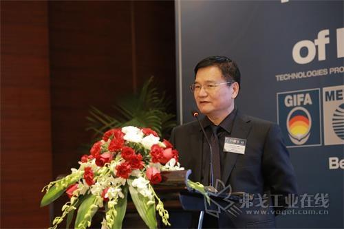 中国钢铁工业协会副秘书长、中国国际贸易促进委员会冶金行业分会会长杨尊庆先生