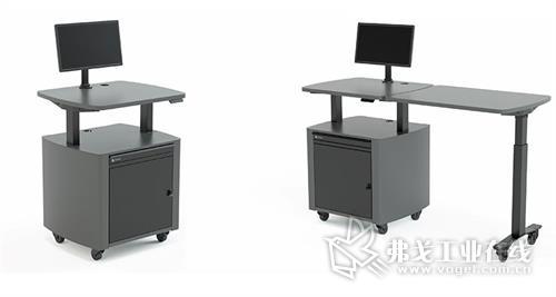 自动升降电脑桌