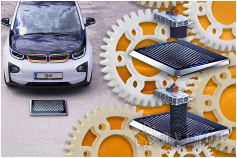 Matrix 电动车充电系统采用了可快速设计的高耐磨的 igus 塑料齿轮,实现更便捷的停车和充电。(来源:igus GmbH)
