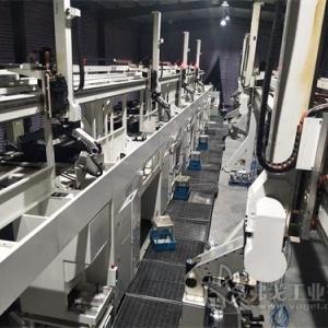缸体加工桁架机器人生产线