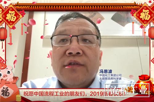 中国化工集团公司大数据首席科学家 冯恩波