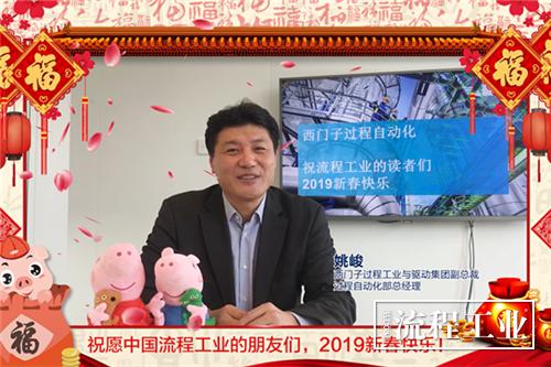 西门子过程工业与驱动集团副总裁 姚峻