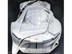 全球首款全尺寸3D打印概念车DB Project问世