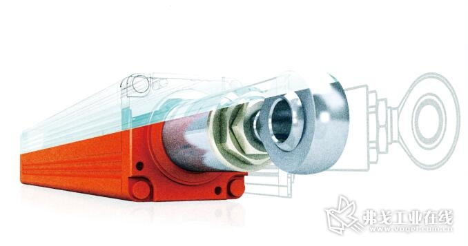 图1 基于精度和动态要求,Opitz依靠SEW的伺服技术来确定减容器中的运动过程