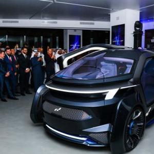 阿联酋首辆L5自动驾驶汽车将在2019年上海车展首次公开亮相