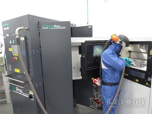 Progressive Technology 使用Russell AMPro Sieve Station?粉末筛分回收系统筛分回收AM增材粉末