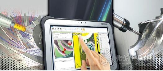 图1 CAM和仿真软件发挥了重要作用,能实现对整个CNC制造过程的全方位集成控制