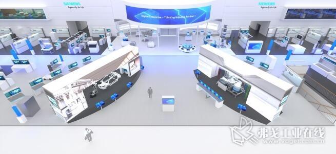 """西门子将在2019年汉诺威工业博览会上展示""""工业4.0""""的行业智能解决方案"""