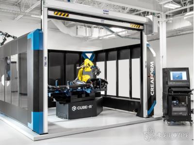 Creaform:Creaform CUBE-R-在线检测专用交钥匙 3D 扫描坐标测量机