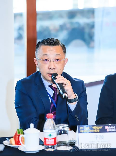 蔡司中国工业质量解决方案副总裁平颉