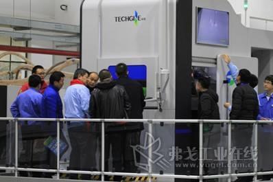 TCT展会同期,探真邀请近50位行业内用户莅临工厂一睹TS500设备真身