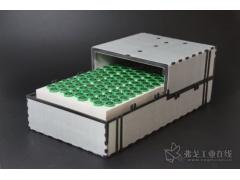 采用连续纤维增强热塑性塑料制成的一种夹层电池壳