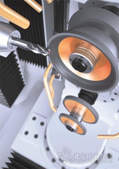vgrind 360整体硬质合金刀具刃磨机床