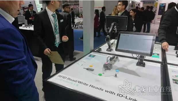 倍加福带IO-Link接口的RFID读写头