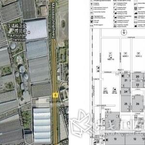 【展馆分布图】-汉诺威工业博览会