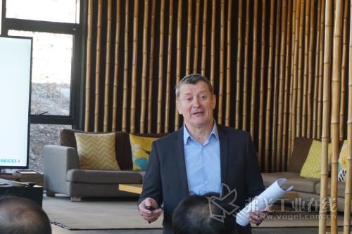 图1  山高刀具大中华区董事总经理Jean-François Martins(马丁)先生