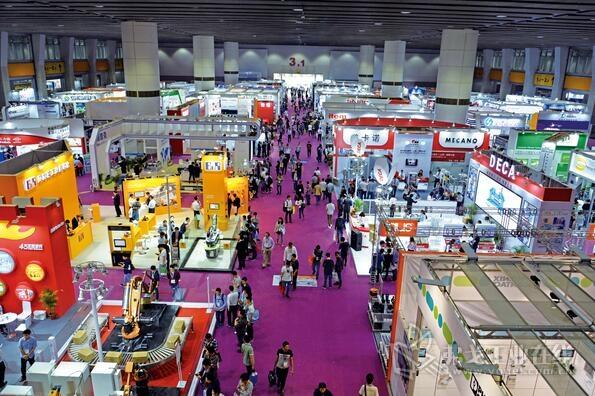 SIAF广州工业自动化展现场
