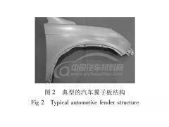 汽车碳纤维增强塑料翼子板的设计及性能