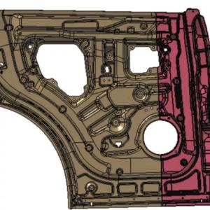 浅谈汽车激光拼焊车门内板拉伤、开裂解决方法