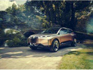 宝马概念车BMW Vision iNEXT即将首发亮相2019上海车展