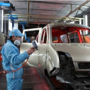 汽车涂装生产线不同涂料补涂方法