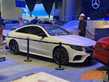 2019上海车展探馆:奔驰AMG E 53亮相