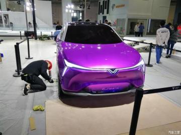 上海车展探馆:合众Eureka 02概念车
