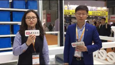 2019 LogiMAT China:Geek+ 联合创始人及产品副总裁采盯着访