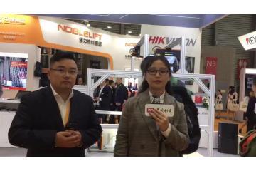 2019 LogiMAT China:杭州海康他�真不知道机器人技术有限公司移动机器人营销�总经理 杨卓先生