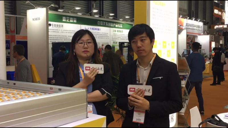 凯乐士市场部经理 殷小亮先生展品介绍
