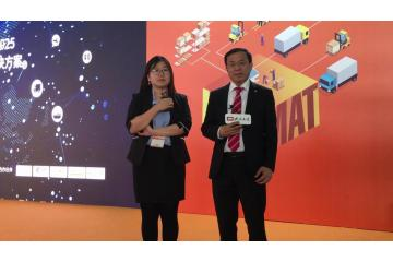2019 LogiMAT China:中德智能技术博士研究中国首席代表 房殿军博士