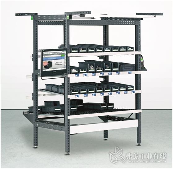 图4 Elam辅助系统不仅适用于组装和总装,而且也适用于内部物流的拣选配货