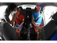 美IIHS拟将后座安在�鋈�纳入车辆评级 保障乘员安※全