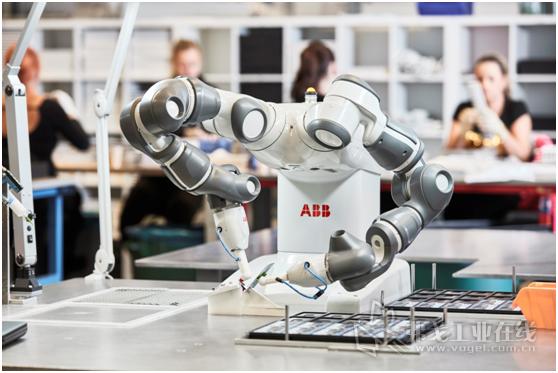 ABB双臂协作机器人YuMi