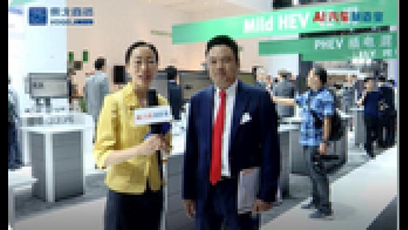 【视频采访】2019上海车展:舍弗勒智能、网联、电气化的长远规划