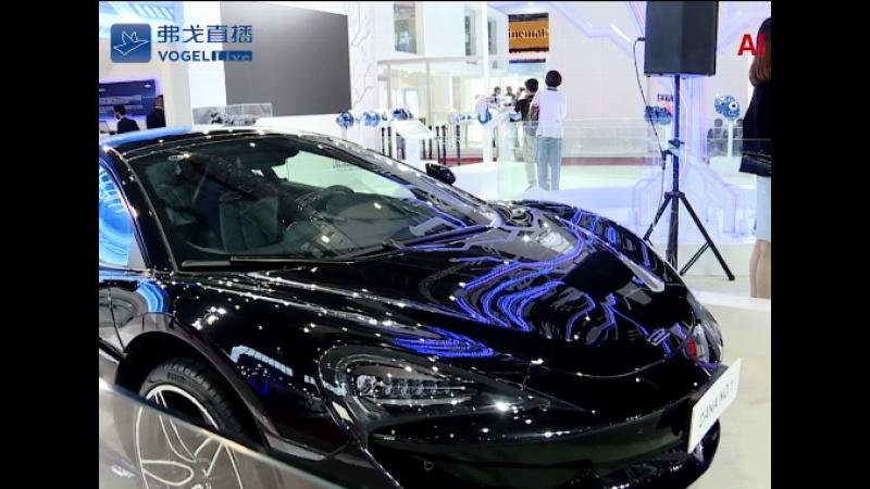 【视频】2019上海车展:展馆黑科技一