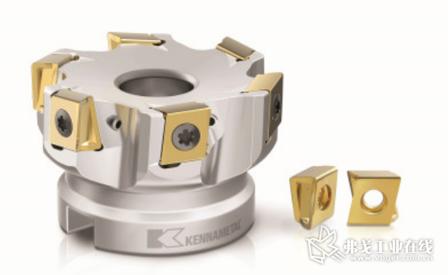 Mill 4-12KT 采用切向安装刀片设计,每个刀片上有四个切削刃,从而降低刀具成本