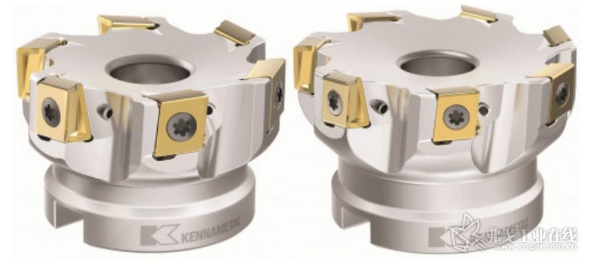 提供中齿和粗齿类型的 Mill 4-12KT 刀体产品