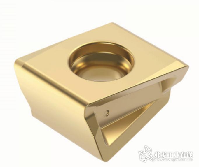 创新的三角形刃带设计确保切削刃有极佳的强度性能