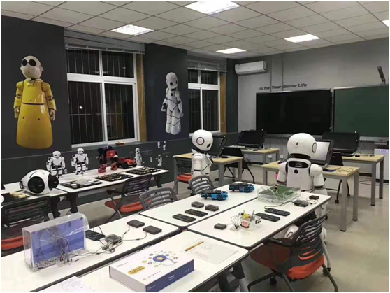 CANBOT机器人•人工智能实验室未来学校项目