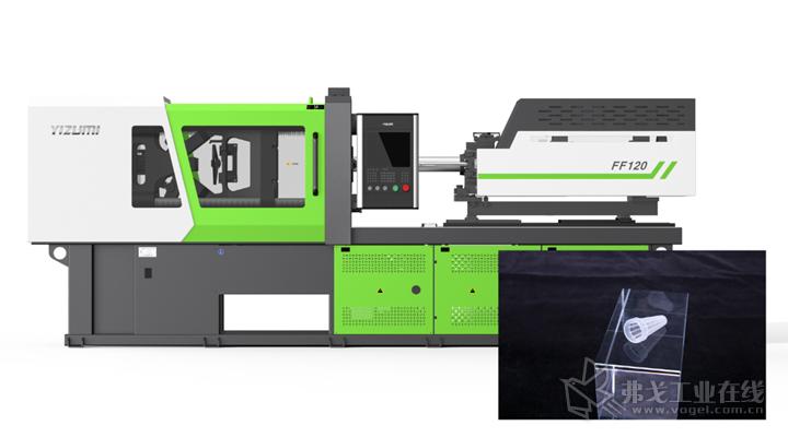 F电动注塑机将携带新技术Servo Direct Control伺服直控系统,现场演绎一出8血路管过滤网,制品尺寸偏差控制在±0.03mm以内