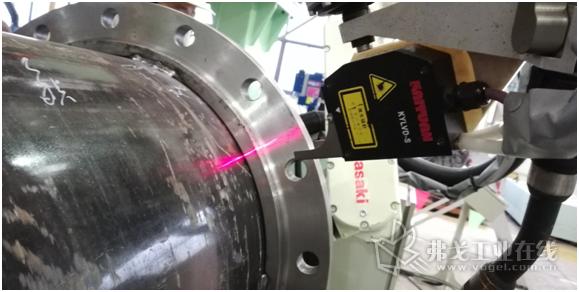外焊缝激光检测