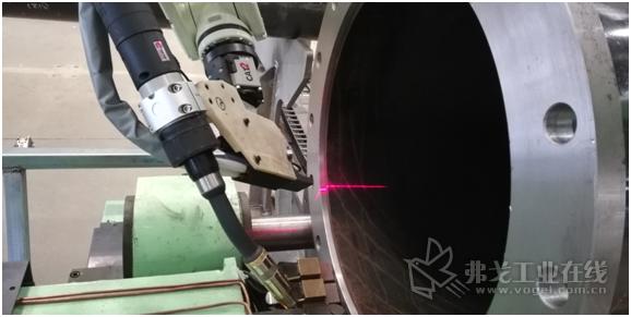 内焊缝激光检测