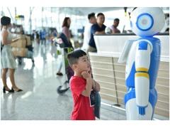 广州白云机场智能服务机器人