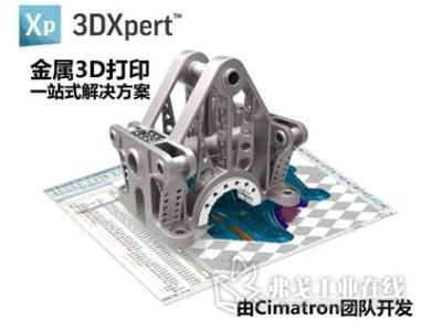 金属增材制造软件成为金属3D打印的关键要素