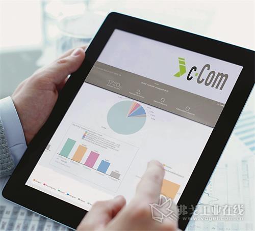图3 平板电脑和智能手机的各类App对c-Com平台上的模块起到了支撑作用