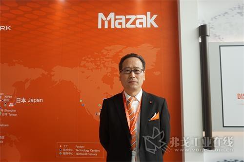 山崎马扎克(中国)有限公司总裁助理李金和先生