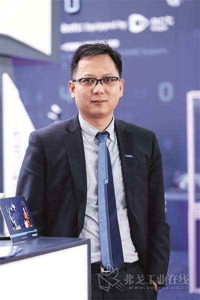 雄克中国北区销售总监董韬先生
