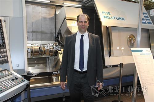 图3 WFL公司副总经理、销售总裁Martin Kaukal先生