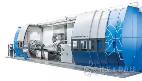 图4 魏因加特纳公司的mpmc车铣复合加工中心